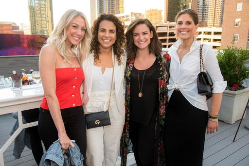 Helen Costello, Carla Rosenberg, Amy Messer, and L
