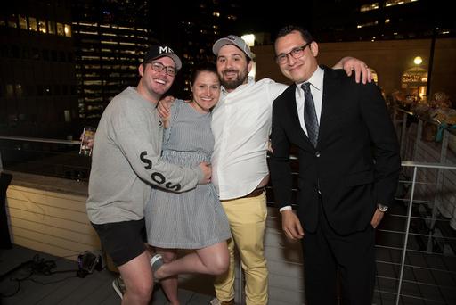 Matt Pierson, Megan Adams, Wes Smith, and Enrique