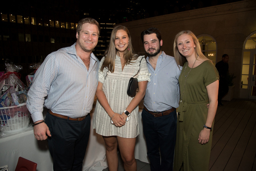 Brandon Howley, Sarah Howley, Billy Langhenry, and