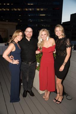 Tori Herson, Jon Boski, Madelyn Dunnington, and Co