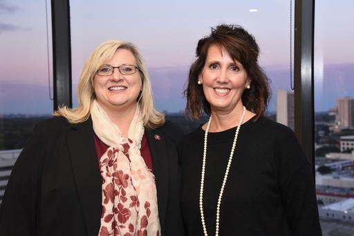Lisa Huffman, PhD, and Patricia Flint
