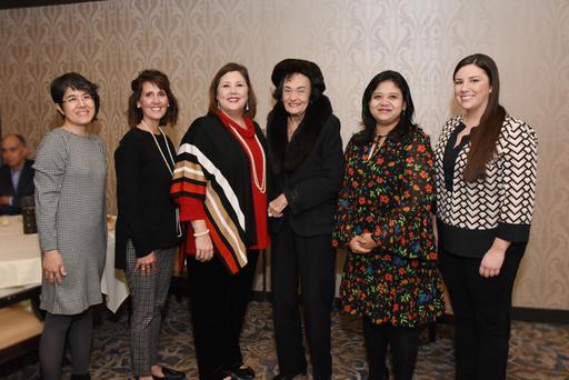 Virginia Chandler Dykes and Scholarship Recipients