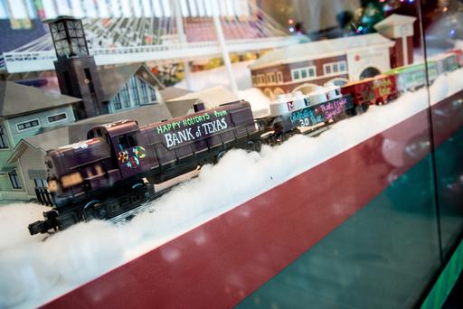 The Largest Miniature Train Exhibit in Texas