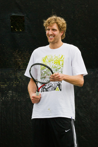 Dirk Nowitzki Pro Celebrity Tennis Classic Is Sept. 15 at SMU Tennis Complex, Tickets $20