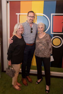 Mary McDermott Cook, Harrison Edell, and Lois Fink