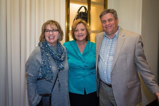 (L-R) Steve Atkinson, Kristen Greenberg, Mary Spen