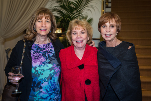 (L-R) Nancy Latner, Mary Spencer, Susie Swanson