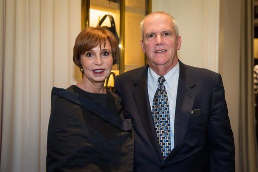 (L-R) Susie Swanson, Kevin Coffey