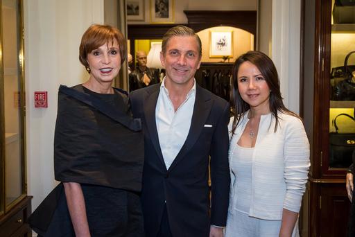 (L-R) Susie Swanson, Curtis Gribble, Trinh Cao