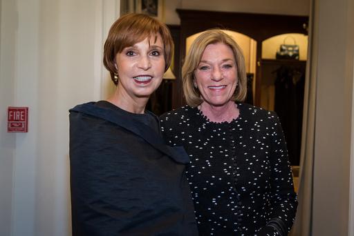 (L-R) Susie Swanson, Judy Davis