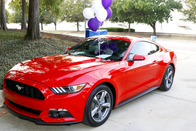 aware raffle features a 2016 v6 ford mustang made possible by sam pack 39 s five star ford adams. Black Bedroom Furniture Sets. Home Design Ideas