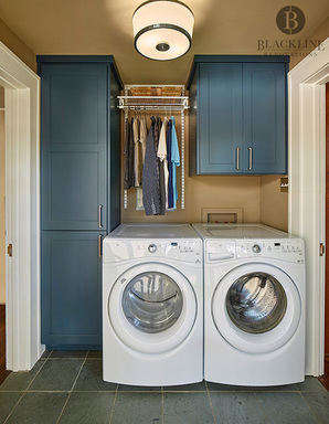 Laundry Room | Blackline Renovations | Dallas