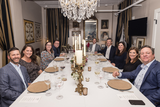 Adam and Aimee Hall host guests in Chef Janice Pro