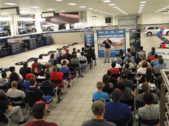 Universal Technical Institute Dallas Fort Worth Future Tech Night Draws Large Crowd Park