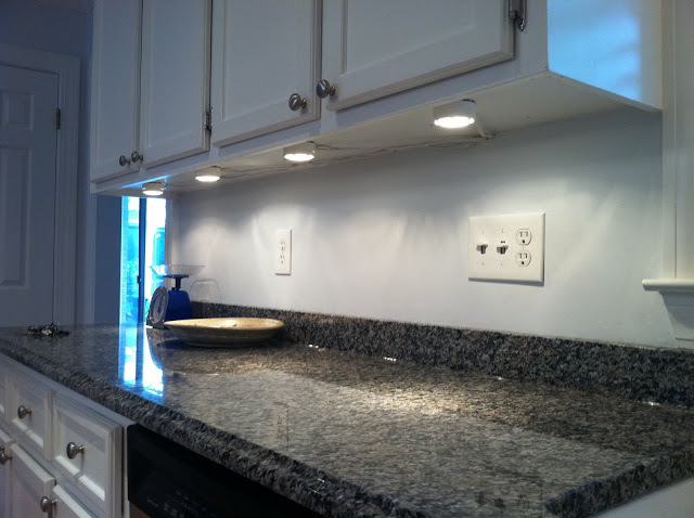 Tips From The Handyman: Kitchen Cabinet Lighting