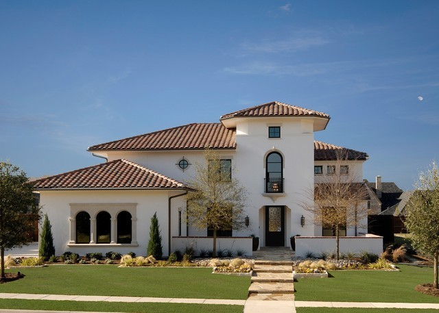Open house new custom home 6813 mulhouse court for Spanish style homes for sale in dallas tx