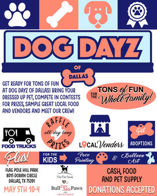 2018 05 05 Dog Dayz of Dallas flyer jpg new one.jp