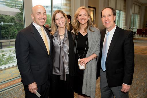 24 Steve and Mimi Skapek, Lisa Bork, and Jeff Vawr