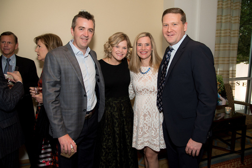 39, John and Nicole Rafferty with Christine and Bi